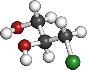 DMSO-Molekül
